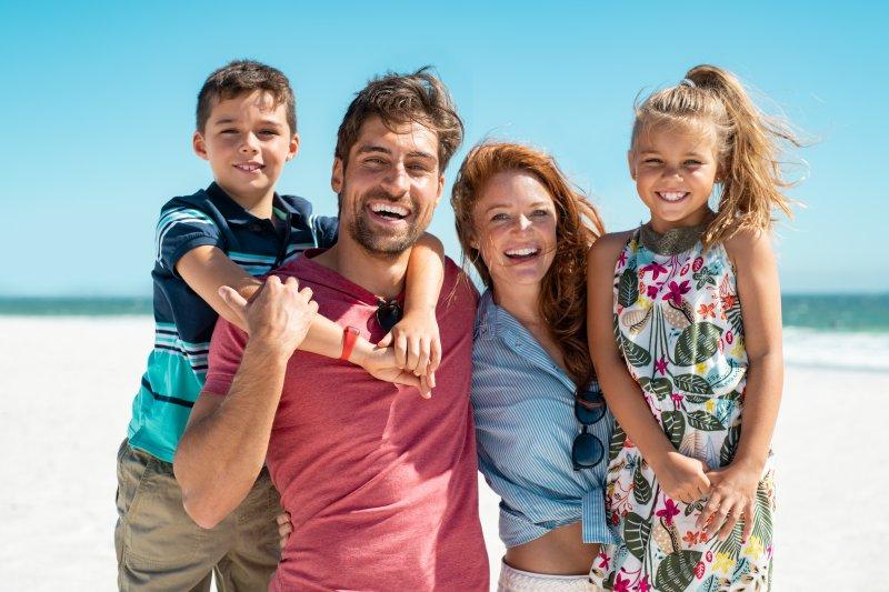 family using summer oral health tips in Weyauwega